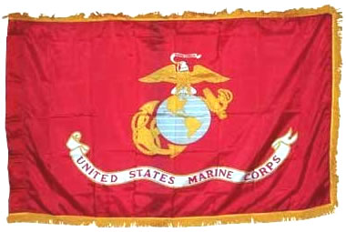 Marines Organizational Flag 3ft X 5ft size US Military Flags