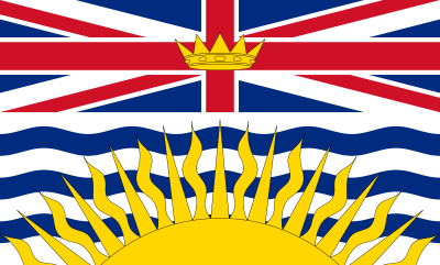 British Columbia Flag 3ft x 5ft Canada Provinces Flags