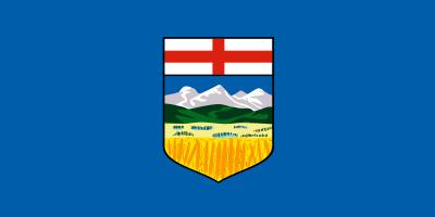 Alberta Flag 4ft x 6ft Canada Provinces Flags