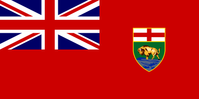 Manitoba Flag 4ft x 6ft Canada Provinces Flags