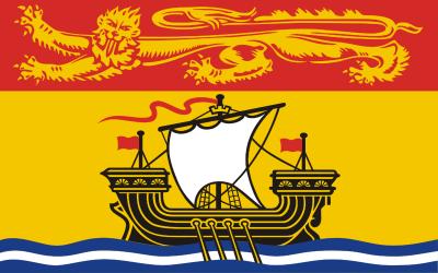 New Brunswick Flag 4ft x 6ft Canada Provinces Flags