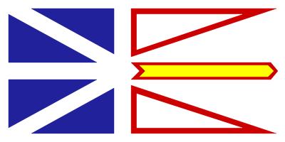 Newfoundland and Labrador Flag 4ft x 6ft Canada Provinces Flags