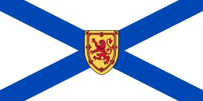 Nova Scotia Flag 4ft x 6ft Canada Provinces Flags
