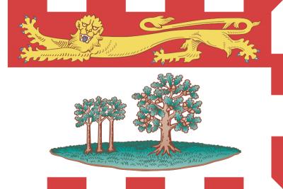 Prince Edward Island Flag 4ft x 6ft Canada Provinces Flags