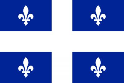 Québec Flag 3ft x 5ft Canada Provinces Flags