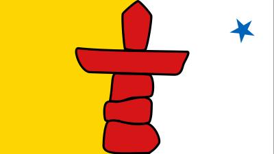 Nunavut Territories Flag 4ft x 6ft Canada Provinces Flags