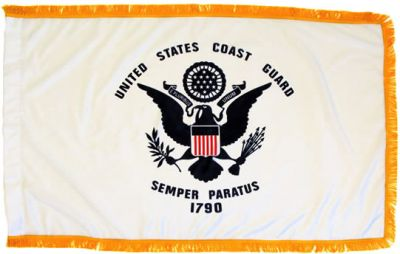 Coast Guard Flag 3ft X 5ft size US Military Flags