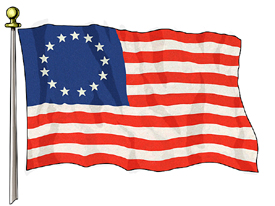 13 Star 3ft x 5ft Betsy Ross US Flag Specialty Flags