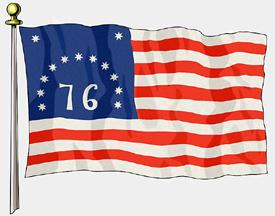 Bennington Flag, 3ft X 5ft US Flag Specialty Flags