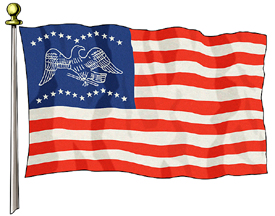 General Fremont Flag, 3ft X 5ft US Flag Specialty Flags