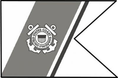 US Coast Guard Unit Coast Guard guidons
