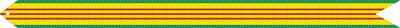 Vietnam Service Campaign and War Service Streamer