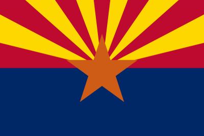 Arizona State Flag 3'x5' US State Flags
