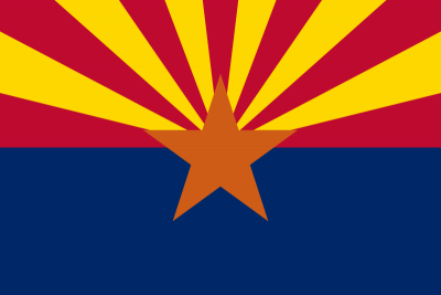 Arizona State Flag 4'x6' US State Flags