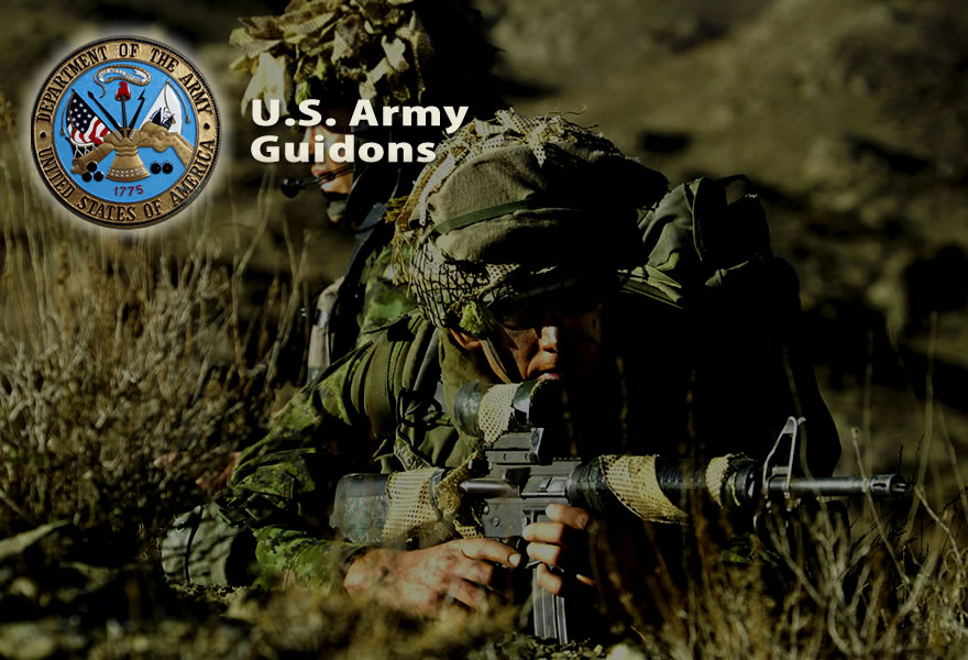Army National Guard Guidons