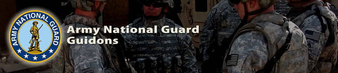 U.S. Army National Guard Guidons