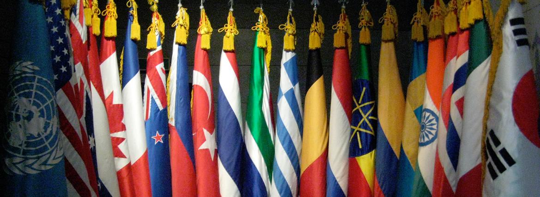 International Organization Flags Council Of Europe Nato